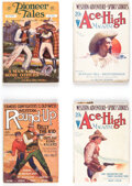 Pulps:Western, Assorted Western Pulps Group of 7 (Various, 1928-40) Condition: Average VG/FN.... (Total: 7 Items)