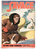 Pulps:Hero, Doc Savage - Spring 1949 (Street & Smith) Condition: FN/VF....