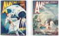 Pulps:Science Fiction, Amazing Stories Group of 2 (Ziff-Davis, 1932).... (Total: 2 Items)