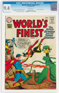 Silver Age (1956-1969):Superhero, World's Finest Comics #117 (DC, 1961) CGC NM 9.4 White pages....