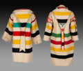 American Indian Art:Beadwork and Quillwork, Two Blackfoot Wool Compotes... (Total: 2 )