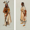 American Indian Art:Photographs, Ned Jacob (b. 1938)... (Total: 2 )