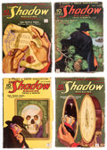 Pulps:Detective, Shadow Group of 4 (Street & Smith, 1935) Condition: Average VG.... (Total: 4 Illustration Art)