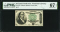 Fractional Currency:Fourth Issue, Fr. 1379 50¢ Fourth Issue Dexter PMG Superb Gem Unc 67 EPQ.. ...