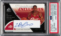 Basketball Cards:Singles (1980-Now), 2003 SP Game Used Edition LeBron James Rookie Exclusives Autograph #RE1 PSA Gem Mint 10, Auto 10 - Serial Numbered 17/100....