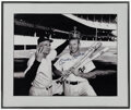 "Autographs:Photos, Mickey Mantle Signed Oversized ""Triple Crown"" Photograph. ..."