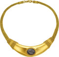 Estate Jewelry:Necklaces, Ancient Coin, Gold Necklace. ...