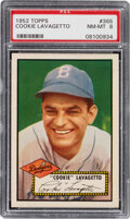 Baseball Cards:Singles (1950-1959), 1952 Topps Cookie Lavagetto #365 PSA NM-MT 8. ...