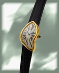 Timepieces:Wristwatch, Cartier, Very Rare and Desirable Crash, 1991 Limited Editi...
