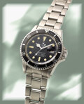Timepieces:Wristwatch, Rolex, Oyster Perpetual Submariner, Ref. 1680, Stainless Steel, circa 1979. ...