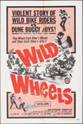 "Movie Posters:Exploitation, Wild Wheels & Other Lot (Fanfare, 1969). Folded, Fine-. One Sheets (2) (27"" X 41""). Exploitation.. ... (Total: 2 Items)"