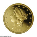 Proof Liberty Double Eagles: , 1887 $20 PR65 Ultra Cameo NGC. The mintage figure for ...