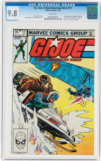 G. I. Joe, A Real American Hero #11 (Marvel, 1983) CGC NM/MT 9.8 White pages