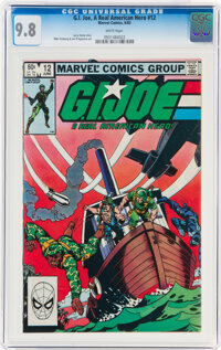 G. I. Joe, A Real American Hero #12 (Marvel, 1983) CGC NM/MT 9.8 White pages