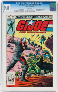 G. I. Joe, A Real American Hero #14 (Marvel, 1983) CGC NM/MT 9.8 White pages