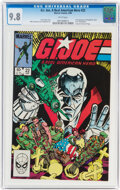 Modern Age (1980-Present):War, G. I. Joe, A Real American Hero #22 (Marvel, 1984) CGC NM/MT 9.8 White pages....