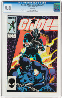 G. I. Joe, A Real American Hero #31 (Marvel, 1985) CGC NM/MT 9.8 White pages