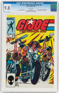 G. I. Joe, A Real American Hero #32 (Marvel, 1985) CGC NM/MT 9.8 White pages