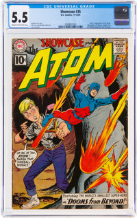 Showcase #35 The Atom (DC, 1961) CGC FN- 5.5 Cream to off-white pages