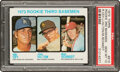 Baseball Cards:Singles (1970-Now), 1973 Topps Mike Schmidt - Rookie 3rd Basemen #615 PSA Gem Mint 10 - Pop Six. ...