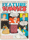 Platinum Age (1897-1937):Miscellaneous, Feature Funnies #3 (Chesler, 1937) Condition: GD....