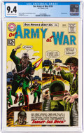 Silver Age (1956-1969):War, Our Army at War #124 (DC, 1962) CGC NM 9.4 Off-white to white pages....