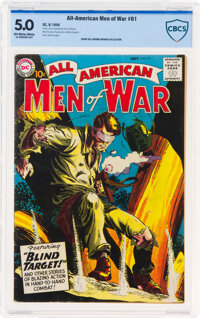 All-American Men of War #61 (DC, 1958) CBCS VG/FN 5.0 Off-white to white pages