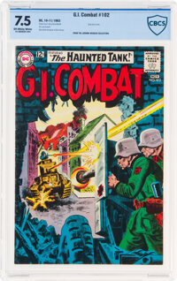 G.I. Combat #102 (DC, 1963) CBCS VF- 7.5 Off-white to white pages