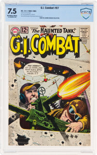 G.I. Combat #97 (DC, 1962) CBCS VF- 7.5 Off-white to white pages