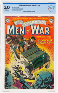 All-American Men of War 128 (#2) (DC, 1952) CBCS GD/VG 3.0 Off-white pages