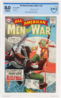 All-American Men of War #102 (DC, 1964) CBCS VF 8.0 Off-white pages