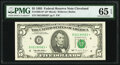 Small Size:Federal Reserve Notes, Fr. 1985-D* $5 1995 Federal Reserve Note. PMG Gem Uncirculated 65 EPQ.. ...