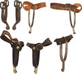 Military & Patriotic:Indian Wars, Three Pairs of Spurs.. ... (Total: 4 Items)