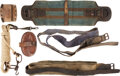 Military & Patriotic:Indian Wars, Group of U.S. Cavalry Horse Accessories.. ...