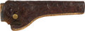 Western Expansion:Cowboy, Western Gear: Heiser of Denver Beautifully Tooled Holster.. ...