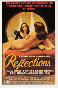 """Movie Posters:Adult, Reflections (Vivid, 1977). Folded, Overall: Very Fine. One Sheets (2) (25"""" X 38"""") Giguilliat Artwork. Adult.. ... (Total: 2 Items)"""