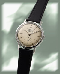 "Patek Philippe, Rare and Original Owner Ref. 3417 ""Amagnetic"", Stainless Steel, circa 1961"