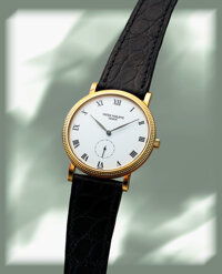 Patek Philippe, Very Fine Calatrava Ref. 3919, 18K Yellow Gold, Manual Wind, Circa 1990s
