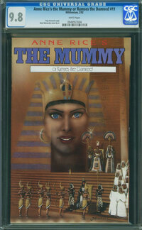 Anne Rice's The Mummy or Ramses The Damned #11 (Millenium Publications , 1992) CGC NM/MT 9.8 White pages