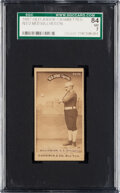 Baseball Cards:Singles (Pre-1930), 1887-90 N172 Old Judge Ned Williamson (#502-6) SGC 84 NM 7 - None Higher. ...