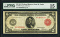 Fr. 839b $5 1914 Red Seal Federal Reserve Note PMG Choice Fine 15