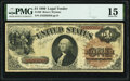 Large Size:Legal Tender Notes, Fr. 30 $1 1880 Legal Tender PMG Choice Fine 15.. ...
