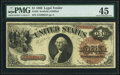 Large Size:Legal Tender Notes, Fr. 28 $1 1880 Legal Tender PMG Choice Extremely Fine 45.. ...