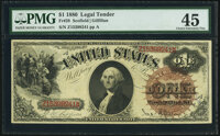 Fr. 28 $1 1880 Legal Tender PMG Choice Extremely Fine 45