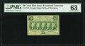 Fr. 1313 50¢ First Issue PMG Choice Uncirculated 63