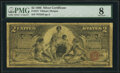Large Size:Silver Certificates, Fr. 247 $2 1896 Silver Certificate PMG Very Good 8.. ...