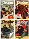 Pulps:Detective, Shadow Group of 4 (Street & Smith, 1941) Condition: Average FN/VF.... (Total: 4 Items)