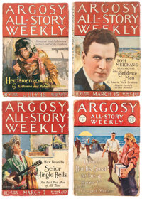 Argosy-All Story Weekly Group of 23 (Munsey, 1921-37) Condition: Average GD/VG.... (Total: 24 Items)