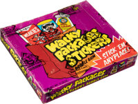 1973 Topps Wacky Packages Stickers – Series 1 Wax Box With 48 Unopened Packs!