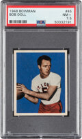 Basketball Cards:Singles (Pre-1970), 1948 Bowman Bob Doll #45 PSA NM+ 7.5. ...